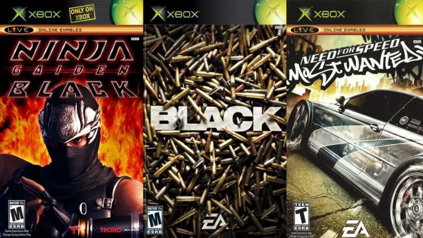 jogos para xbox classico primeira geração