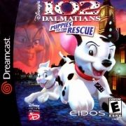 102 Dalmatians Puppies to the Rescue Dreamcast Original Americano