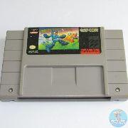 Mega Man Soccer Snes Original Americano BOM Estado