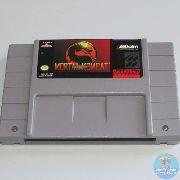 Mortal Kombat Snes 100% Original Americano Excelente