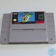 Super Mario World Snes Original Americano RELABEL