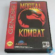 Mortal Kombat Completo Original Americano Mega Drive