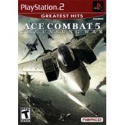 Ace Combat 5 Unsung War Ps2 Original Americano Completo