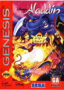 Aladdin Mega Drive Original Americano Completo