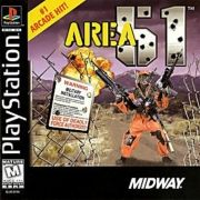 Area 51 Ps1 Original Americano Completo