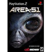 Area 51 Ps2 Original Americano Completo Raridade.