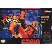 Art of Fighting  Super Nintendo 100% Original Americano