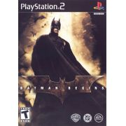 Batman Begins Ps2 Original Americano Completo