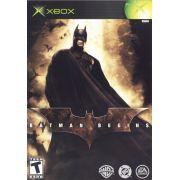Batman Begins Xbox Classico Original Americano Completo