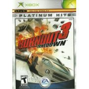 Burnout 3 Take Down Xbox Clássico Original Completo