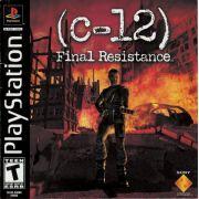 C-12: Final Resistance Ps1 Original Americano Completo