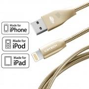 Cabo iPhone Original MFI Homologado Todos iPhone Pod e iPad 8 Pinos