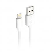 Cabo USB Lightning CB-L10WH Branco C3Plus 2 Amperes