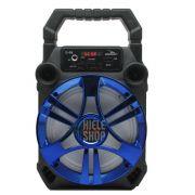 Caixa de Som Amplificada Bluetooth 5.0 Portátil 20 Watts Mp3 Rádio Fm Usb - Azul