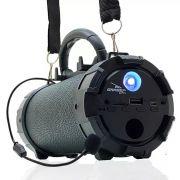 Caixa de Som Amplificada Bluetooth Portátil Mp3 Rádio Fm Usb P2