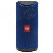 Caixa de Som Amplificada Bluetooth Portátil Mp3 Rádio Fm Usb P2 - Azul