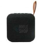 Caixa de Som Amplificada Bluetooth Portátil Mp3 Rádio Fm Usb - Preto