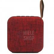 Caixa de Som Amplificada Bluetooth Portátil Mp3 Rádio Fm Usb - Vermelha