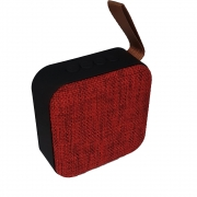 Caixinha de Som Portátil Bluetooth Mp3 Usb Cartão Sd Fm - T5 Vermelha