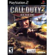 Call of Duty 2 Big Red One Ps2 Original Americano Completo