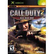Call Of Duty 2 Big Red One Xbox Clássico Original Americano Completo