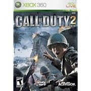Call of Duty 2 Xbox 360 Original Americano Completo