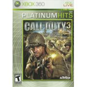 Call of Duty 3 Xbox 360 Original Americano Completo
