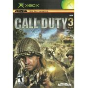 Call of Duty 3 Xbox Clássico Original Americano Completo
