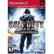 Call Of Duty 5 World At War Final Fronts Ps2 Original Americano
