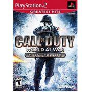 Call Of Duty 5 World At War Final Fronts Ps2 Original Americano