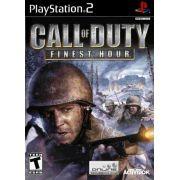 Call of Duty Finest Hour Ps2 Original Americano Completo