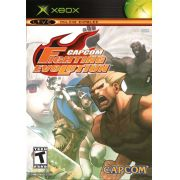 Capcom Fighting Evolution Xbox Clássico Original Americano Completo