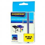Cartucho 664 XL Colorido Deskjet 1115 1118 2135 2136 2138 3635 3636 4535 Masterprint