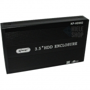 Case Hd 3.5 para HD Externo Usb 2.0 Hd 3.5 Sata Hd Externo Notebook Pc - Preto