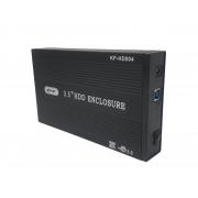 Case Hd 3.5 para HD Externo Usb 3.0 Hd 3.5 Sata Hd Externo Notebook Pc - Preto