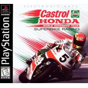 Castrol Honda Superbike Racing Ps1 Original Americano