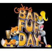 Conker's Bad Fur Day Nintendo 64 Com Manual Raridade+