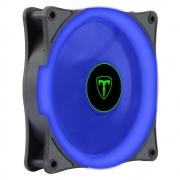 Cooler 120mm Fan Led Azul T-Dagger Gabinete Pc Gamer