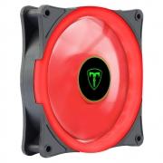 Cooler 120mm Fan Led vermelho T-Dagger Gabinete Pc Gamer