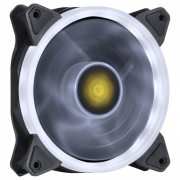 Cooler 120mm Led Branco Ring Pc Gamer Fan Gabinete Vx Gaming