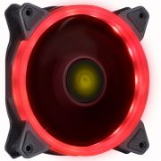 Cooler Rgb 120mm Led Vermelho Ring Pc Gamer Fan Gabinete Vx Gaming