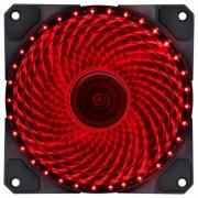 Cooler Fan 120mm 33 Leds Vermelho Pc Gamer Fan Gabinete VX Gaming V. Lumi
