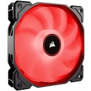 Cooler Fan Corsair 120mm Led Vermelho Gabinete Pc Gamer 1400 RPM