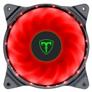 Cooler Fan Led vermelho 120mm T-Dagger Gabinete Pc Gamer