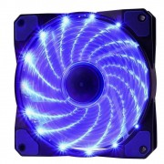 Cooler Rgb 120mm 15 Leds Azul Pc Gamer Fan Gabinete Gaming