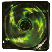 Cooler Rgb 120mm 4 Led Verde Pc Gamer Fan Gabinete Gaming