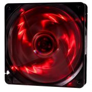 Cooler Rgb 120mm 4 Led Vermelho Pc Gamer Fan Gabinete Gaming