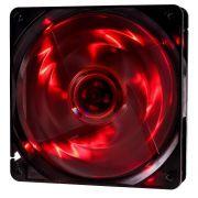 Cooler Rgb 120mm 4 Led Vermelho Pc Gamer Fan Gabinete Gaming
