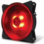 Cooler Rgb 120mm Led Vermelho Pc Gamer Fan Gabinete Cooler Master