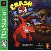 Crash Bandicoot 2 Ps1 Original Americano Completo